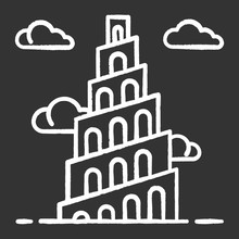 Babel Tower Bible Story Chalk ...