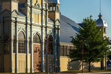 The Beautiful Historic Aberdeen Pavilion In Ottawa Canada