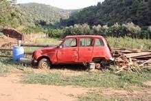 Renault R4 Verlassen