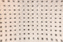 Light Beige Perforated Leather...