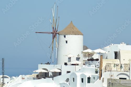 Grecia Santorini Canvas Print
