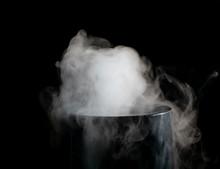 Puffs Of White Smoke Randomly ...