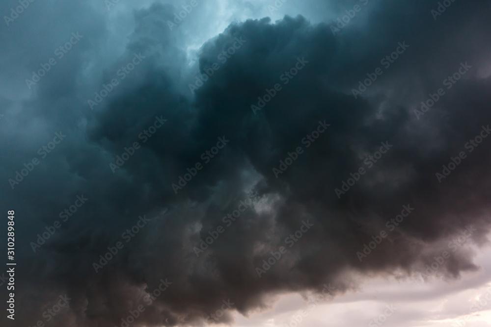Fototapeta Dramatic storm clouds
