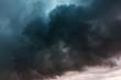 Leinwanddruck Bild - Dramatic storm clouds