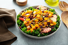 Winter Or Fall Salad With Kale...