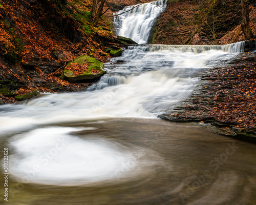 Attica Water Falls Canvas Print