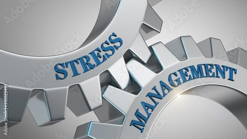Obraz na plátně Stress management concept