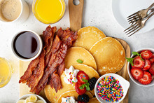 Big Pancake Breakfast Table Wi...