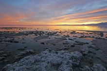 Sunset On The Salton Sea