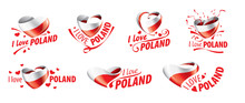 The National Flag Of The Polan...