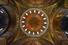 Interior Architecture And Mosaic Design Of 'Cathedral Basilica Of Saint Louis' Roman Catholic Church Located In The Central West End Area Of St. Louis- Missouri, United States