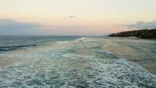 Low Fly Over Hidden Beach In B...