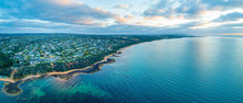Wide Aerial Panorama Of Mount ...
