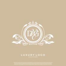 Logo Initial Letter DG Luxury ...