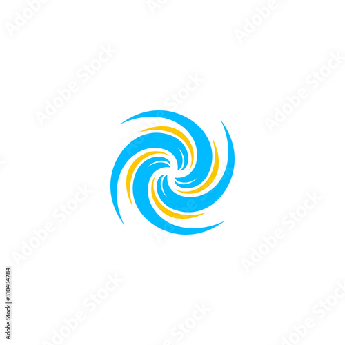 Hurricane logo Canvas Print