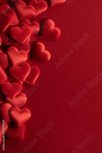 Obraz na płótnie Valentines day hearts frame