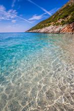 Clear Water Of Gjipe Beach In ...
