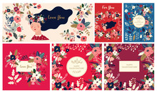 Big Floral Collection Of Cards...