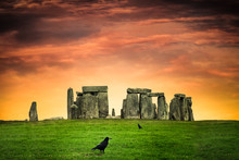Historic Stonehenge Under Colo...