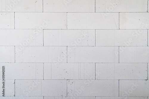 Interior pictures of buildings being constructed with autoclaved aerated bricks Wallpaper Mural