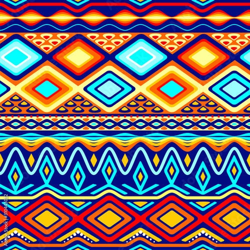 seamless background for african civilization styles #310443032