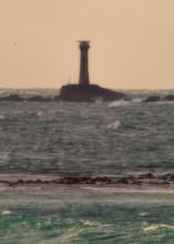 Longships Lighthouse At Sunset