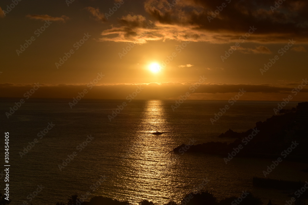 Atlantic Ocean off the coast of Madeira