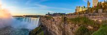 Sunrise At Niagara Falls. View...