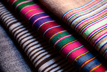 Close Up Of Traditional Peruvi...