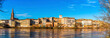 canvas print picture - Panorama of Montauban in the Tarn et Garonne in Occitania, France