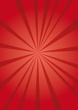 Colorful Ray Vector Background...