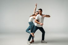 Dancers With Closed Eyes Danci...
