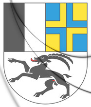 3D Graubunden Coat Of Arms, Sw...