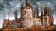 Windsor Castle Under Siege