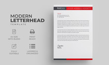 Letterhead Design Template Wit...