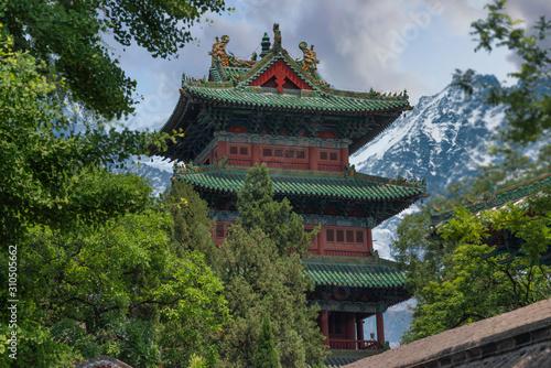 Fotografia Shaolin is a Buddhist monastery in central China.