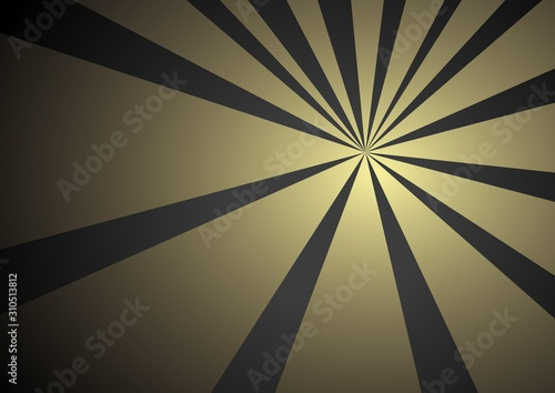 Canvas Print colorful ray vector background illustration