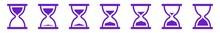 Hourglass Icon Purple | Hourgl...