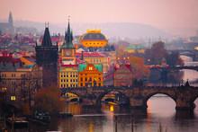 Prague, Czech Republic - Novem...