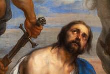 "Valenciennes, France. 2019/9/12. ""Martyrdom Of Saint James"" By Johann Boeckhorst (1650-1660). Valenciennes, Musée Des Beaux-Arts."