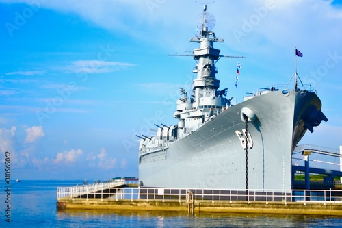 Alabama Battleship Wallpaper Mural