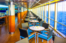 Dining Room Buffet Aboard The Luxury Abstract Cruise Ship