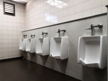 Pattern Of Urinals For Men On ...