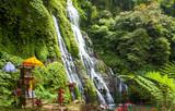 scenic view of banyumala waterfall in bali indonesia