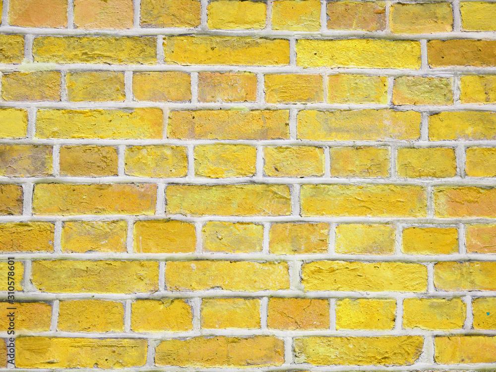 Old brick wall texture. Grunge background.