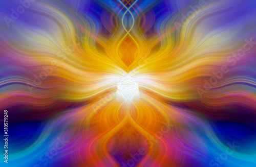 Fotomural Colorful Abstract Background