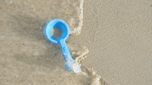 Image Of Kid's Toy At A Beach ...