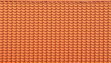Brown Roof Tile Background