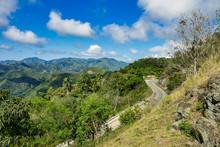 Mountains On The Road Of La Fa...