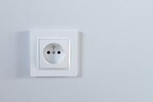 Białe Gniazdko Elektryczne